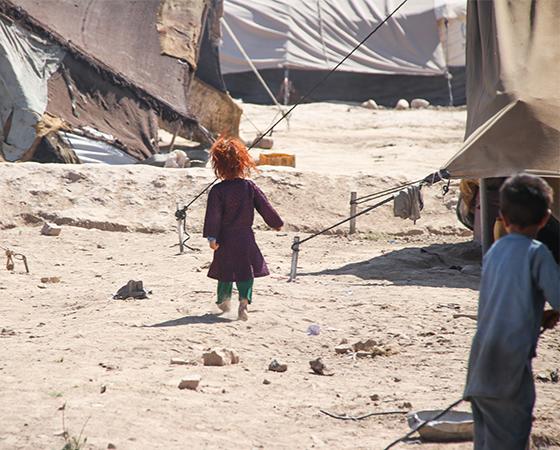 Auf die Not der afghanischen Flüchtlinge reagieren